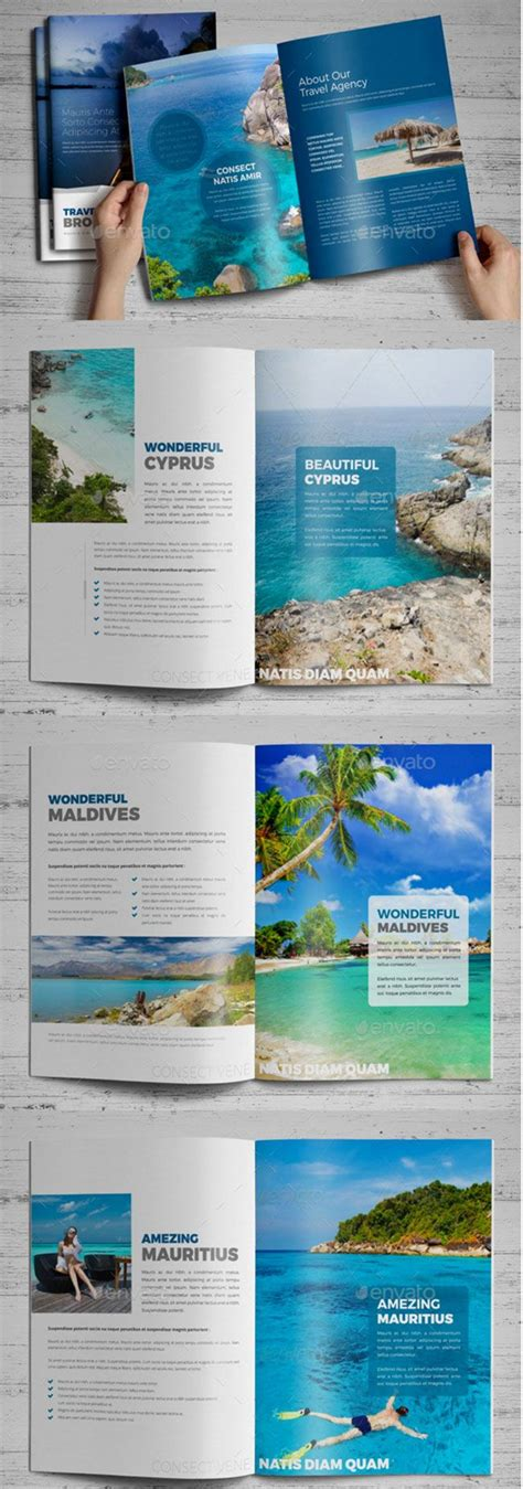Tourist Brochure Template by 15 Must See Brochure Cover Pins Portfolio Design