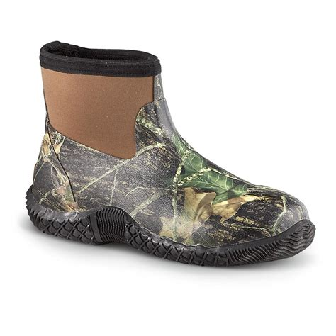 s ranger 174 classic neoprene waterproof shoes mossy oak