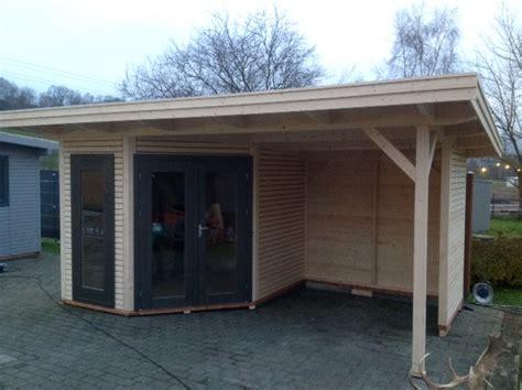 Eckgartenhaus Holz
