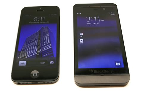 For Blackberry Z10 blackberry z10 vs iphone 5 does bb10 stand a chance
