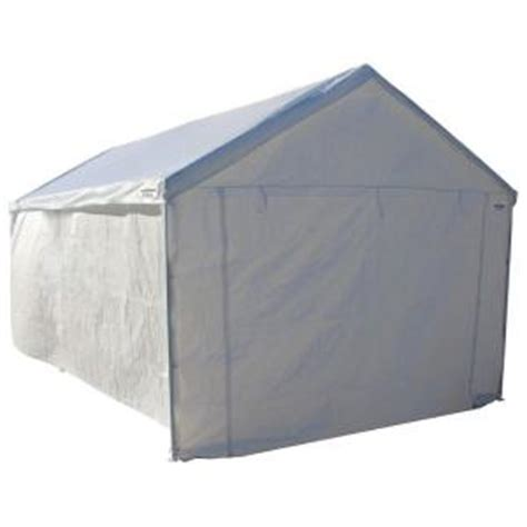 caravan sports 10 ft x 20 ft domain carport sidewall kit