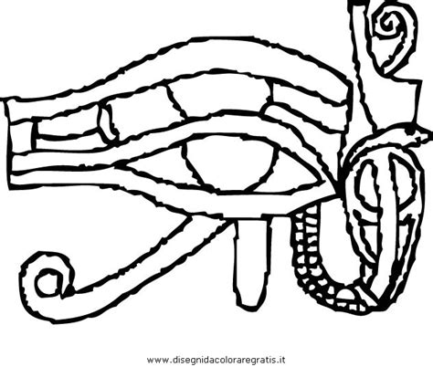 eye of horus coloring page free coloring pages