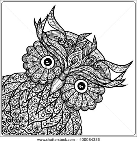 owl zentangle coloring page cute owl zentangle coloring page 214 adult colouring owls
