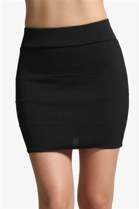 black pencil mini skirt dress