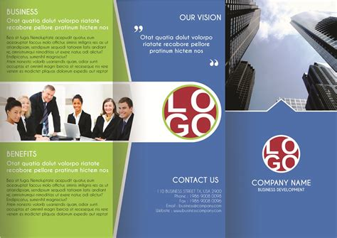 multipurpose business brochure brochure templates on