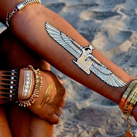 metallic tattoos child of flash tattoos