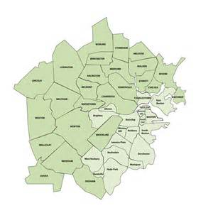 Greater Boston Map by About Us