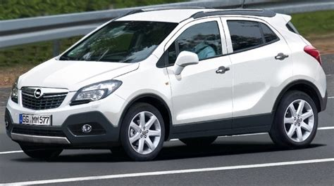 opel jeep opel mokka small crossover leaked previews buick encore