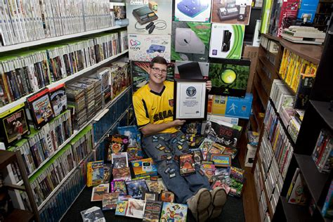 world s largest video game collection no it s not your steam library technabob
