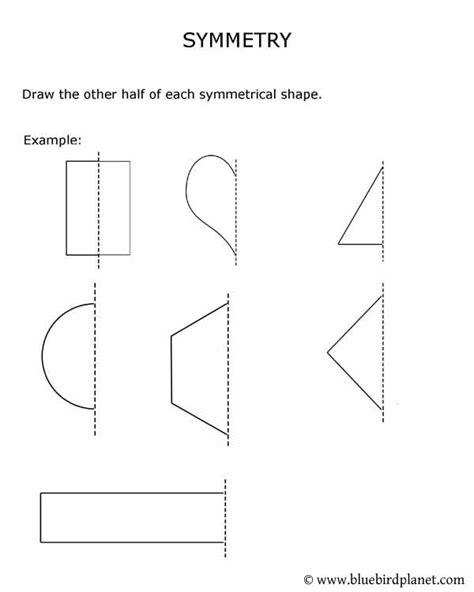 printable shapes for rotational symmetry free printable worksheets for preschool kindergarten 1st