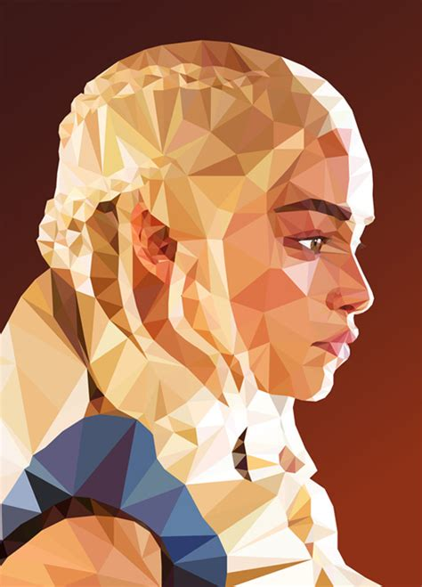 poly pattern ai low poly portrait illustrations inspiration graphic
