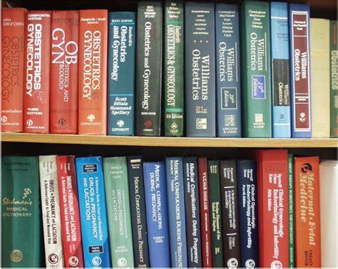 Ob Gyn Shelf by Library