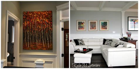 how high to hang a picture the right height to hang artwork and mirrors tips and ideas