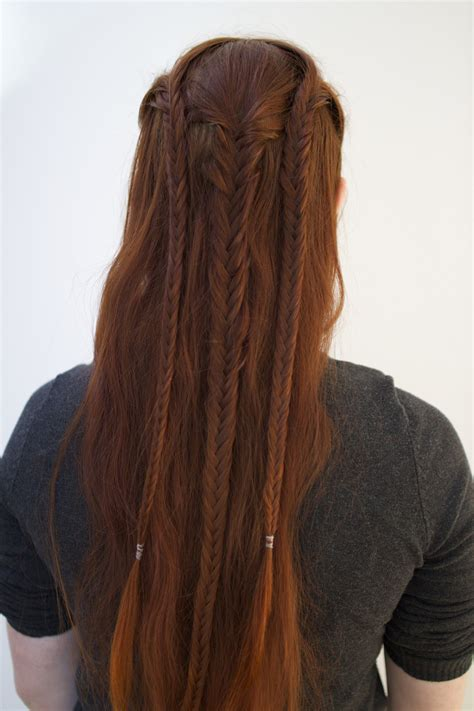 arwen braided hairstyle celtic hair styles viking hair hair styles