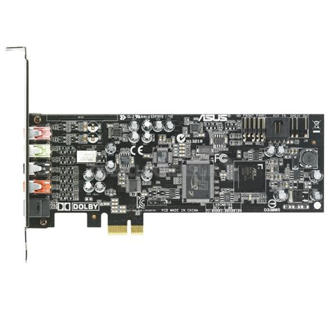 5 1 Sound Card asus xonar dgx 5 1 pci express sound card wit ocuk