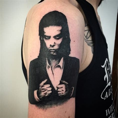 tattoo cave nick cave by karl blom swahili bob s stockholm