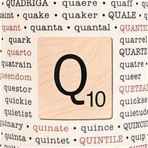 scrabble words for q scrabble words with q