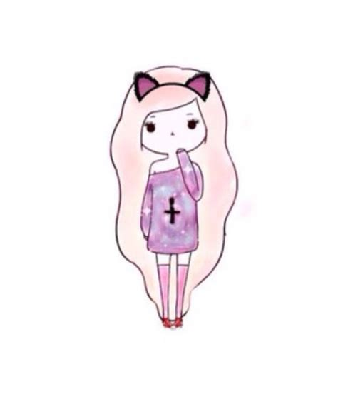 imagenes tumblr para dibujar kawaii 17 melhores imagens de desenhos de meninas no pinterest