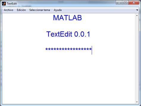 matlab text color textedit file exchange matlab central