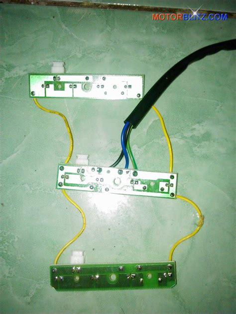 cara membuat lu led variasi motor memperbaiki lu rem variasi led scoopy yang rusak