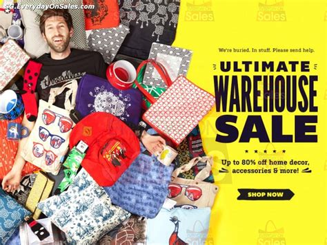 Home Decorators Warehouse Sale by 24 Jan 2014 Onwards Threadless Ultimate Warehouse
