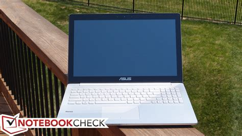 Laptop Asus Zenbook Pro asus zenbook pro ux501jw notebook review notebookcheck