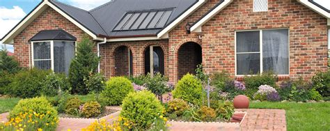 brick houses brick wall houses front garden that can be decor with modern windows can add the