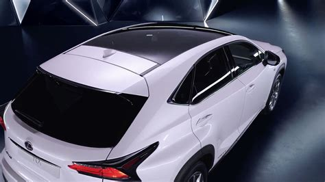 new lexus nx video shows off panoramic glass roof lexus