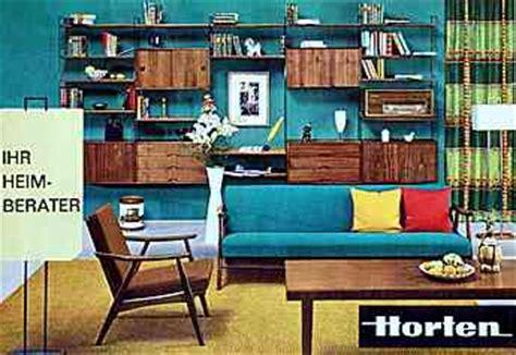 60er Wohnzimmer by M 246 Bel Der 60er Jahre