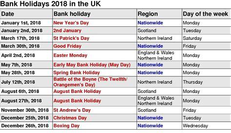 Printable 2018 Calendar With Us Holidays