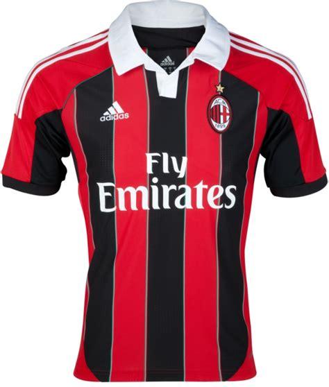 Jersey Ac Milan Home 2012 new ac milan kit 2012 2013 adidas ac milan home jersey 12