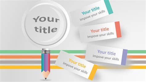 colorful dots lines backgrounds for presentation ppt