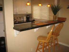 Breakfast Bar Ideas For Kitchen by Mission Bay Hideaway 2 Kitchen Breakfast Bar San Diego