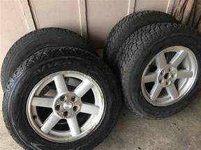 Jeep Liberty Tires Jeep Liberty Tires And Wheels P245 55r17 City
