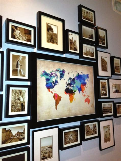 ideas for displaying photos on wall best 25 travel photo displays ideas on pinterest travel