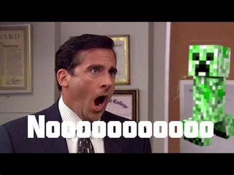 The Office No God No by Minecraft Creeper Screaming No God No No Nooooo