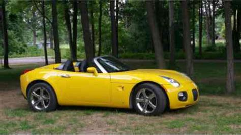 pontiac solstice yellow pontiac solstice gxp 2007 for sale by owner yellow turbo
