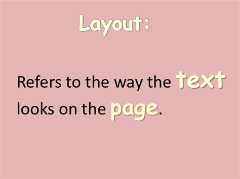layout features in text poetry layout and text features
