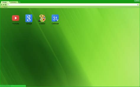 green theme for google chrome light green theme chrome web store