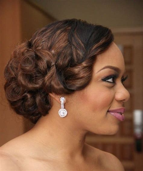 pinups for black weddings 20 gorgeous black wedding hairstyles