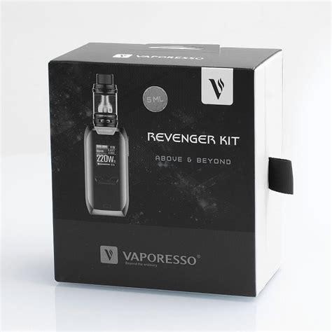 Sale Vaporesso Revenger 220w Tc Box Mod authentic vaporesso revenger 220w black tc vw box mod 5ml nrg tank kit