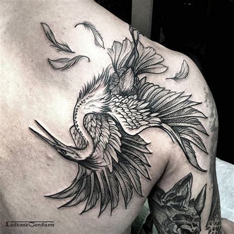 heron tattoo designs best 25 heron ideas on blue heron