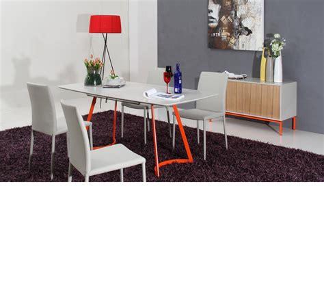 Dreamfurniture Com 2635xt Modern Grey Ash Dining Table Grey Ash Dining Table