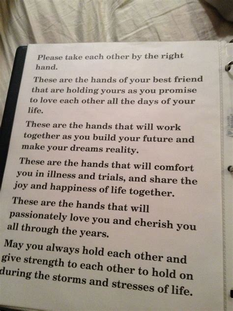 Wedding Vows Pastor by Id Like To The Pastor Say This Right Before We