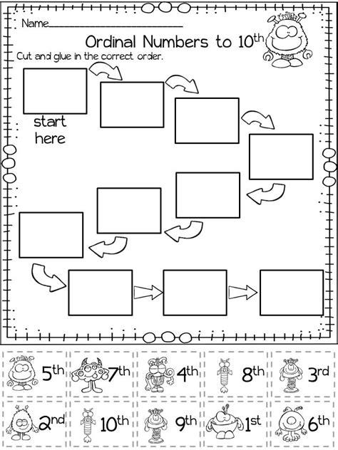 free printable math worksheets ordinal numbers ordinal numbers lesson plan 1st grade 55 free ordinal