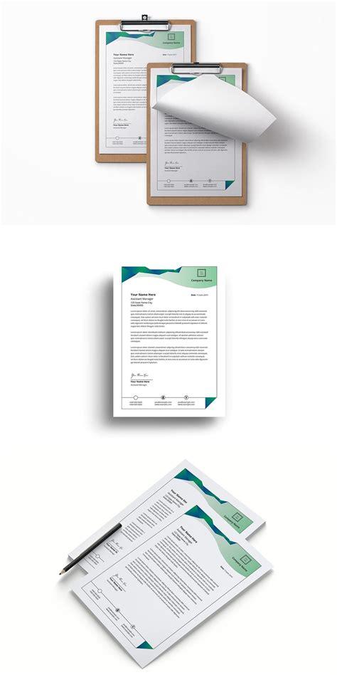 letterhead letterhead stationery templates office branding