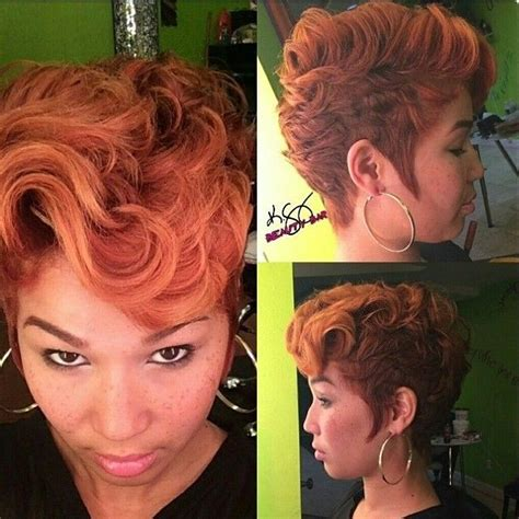 oplaiting natural hair hairstyle betty boop curls on black toni braxton short