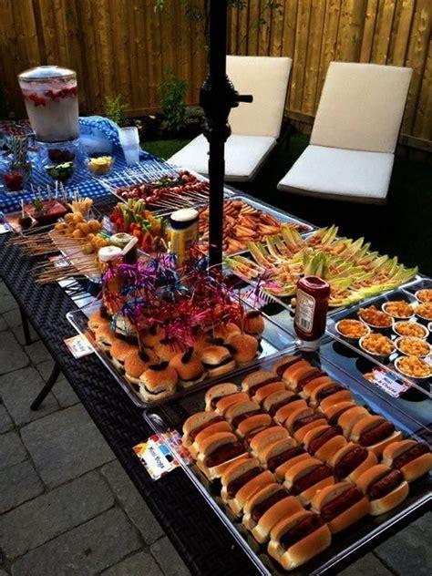 outdoor dinner menu las 25 mejores ideas sobre comida de buffet de la boda en