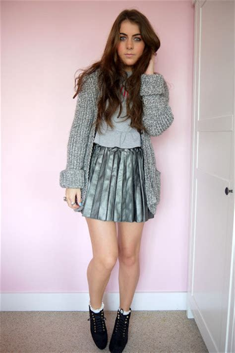 faux leather primark skirts quot robot quot by kirstywears