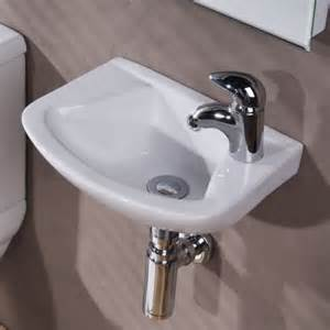 compact bathroom sinks compact 360mm small wall hung cloakroom basin bathroom